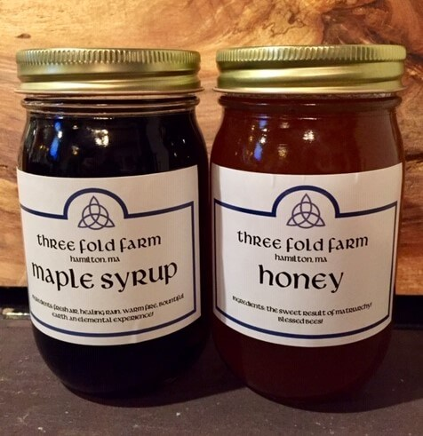 Three Fold Farm Honey and Maple Syrup